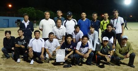 2016.8.30萩・長門支部ソフトボール大会(準優勝萩農林).JPG